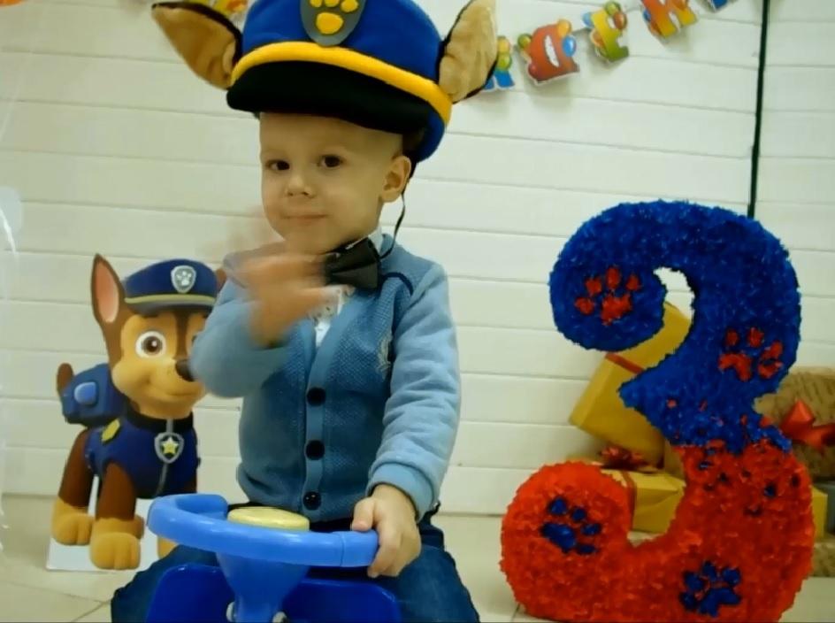 Щенячий патруль! День рождения Тимофея.